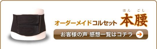 【感想】オーダーメイドコルセット [本腰]